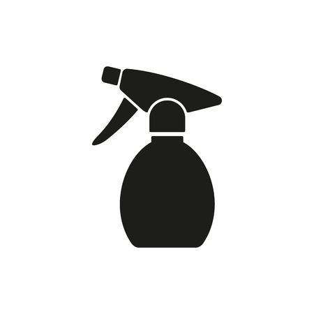 sprayer: The sprayer icon. Atomizer symbol. Flat Vector illustration Illustration