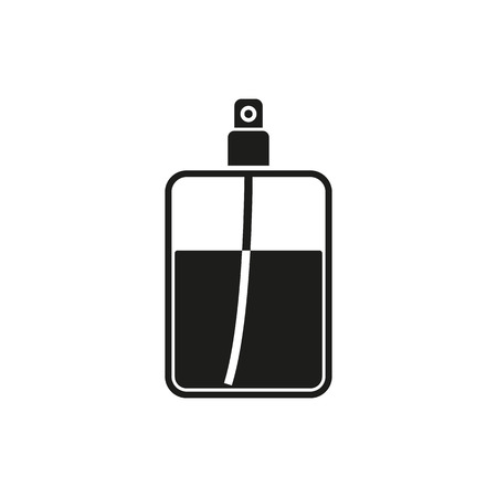 perfume atomizer: The perfume icon. Cologne symbol. Flat Vector illustration