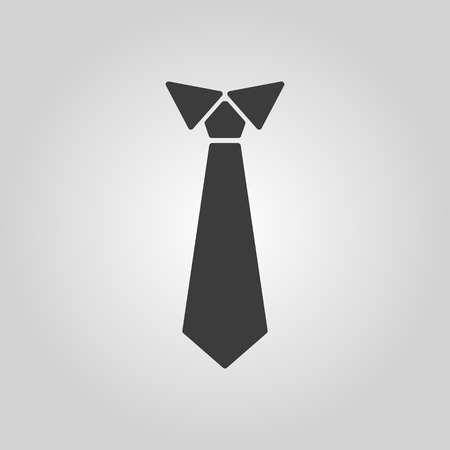 The tie icon Illustration