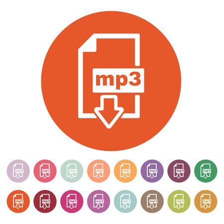 mp3: The mp3 icon Illustration