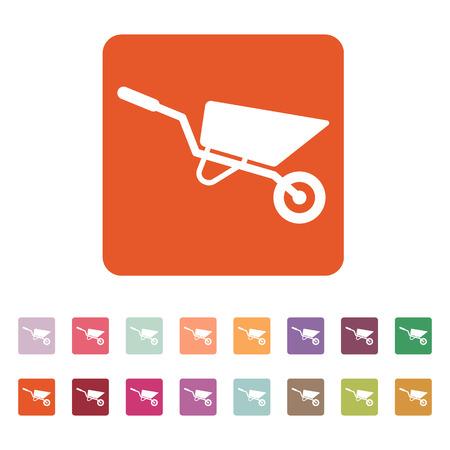 The wheelbarrow icon