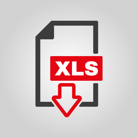 xls: The XLS icon