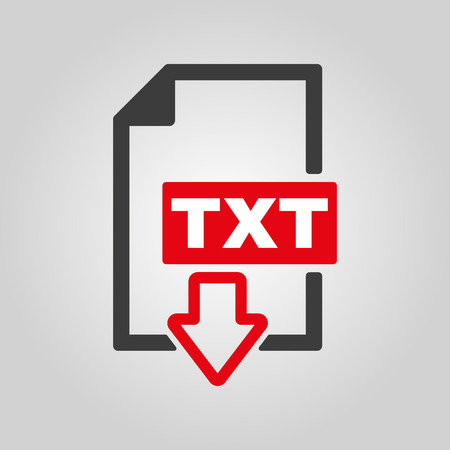 txt: The TXT icon