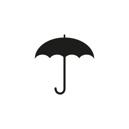 resistant: The umbrella icon. Protection symbol. Flat Vector illustration Illustration