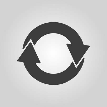 recycling symbol: The recycling icon. Eco and ecological, cycle symbol.