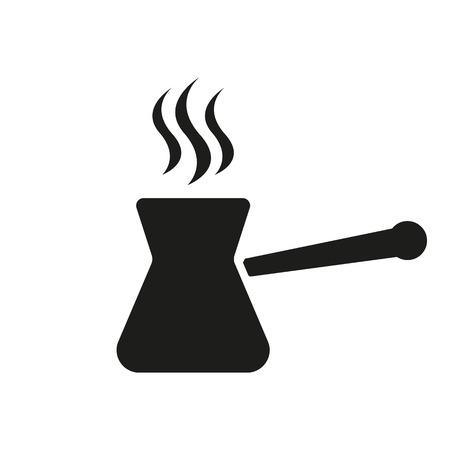 turk: The turk icon. Coffee symbol. Flat Vector illustration