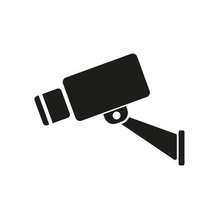 observation: The cctv icon. Camera and surveillance, security, observation symbol. Flat Vector illustration Illustration