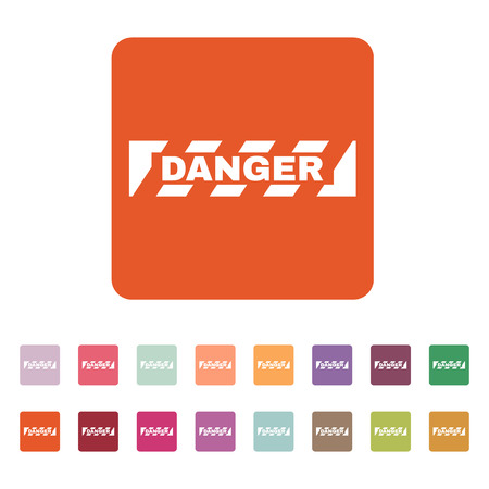 attention symbol: The danger icon. Caution and hazard, attention symbol.