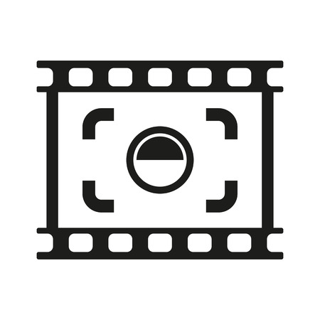 viewfinder: The viewfinder icon. Focusing and photography, photo symbol. Flat Vector illustration. Button Set Illustration