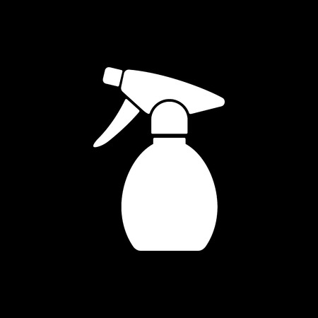 pulverizer: The sprayer icon. Atomizer symbol. Flat Vector illustration Illustration