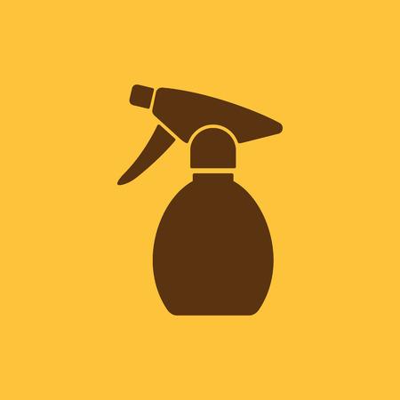 atomizer: The sprayer icon. Atomizer symbol. Flat Vector illustration Illustration