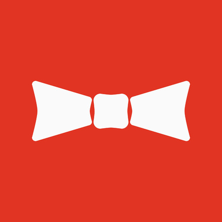 The Bow Tie Icon Bow Tie Symbol Flat Vector Illustration Royalty