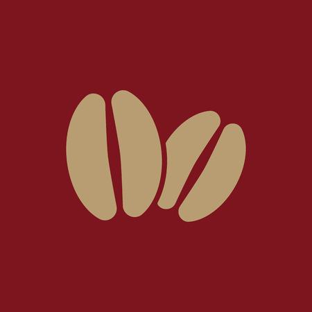 The coffee icon. Coffee symbol. Flat Vector illustration