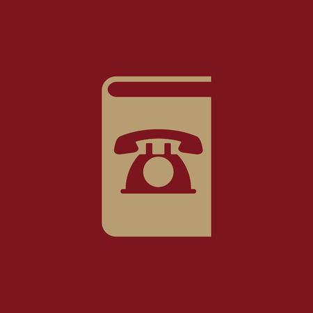 directorio telefonico: Phonebook icon. vector design. Telephone book, Phonebook symbol. web. graphic. JPG. AI. app. logo. object. flat. image. sign. eps. art. picture - stock vector