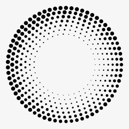 Grunge halftone vector. Dots background. Vintage texture 일러스트