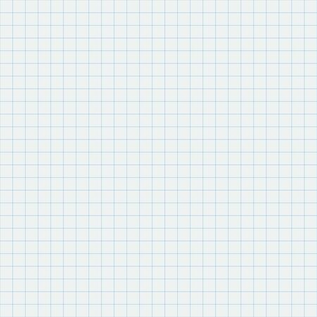 White squared notebook sheet seamless background Stock - Vector illustration 向量圖像