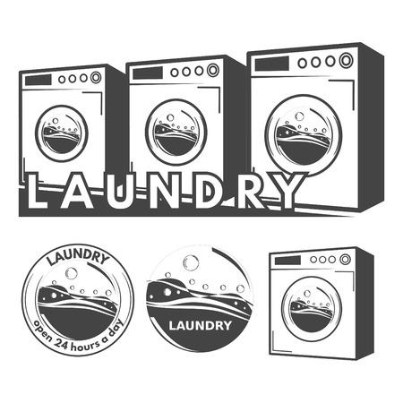 laundry machine: Laundry labels