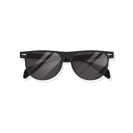 sunglasses isolated: Sunglasses isolated on white background vector illustration