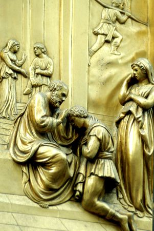 the door of paradise,outside the duomo(colection)