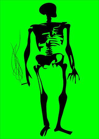 malos habitos: No fume simbol