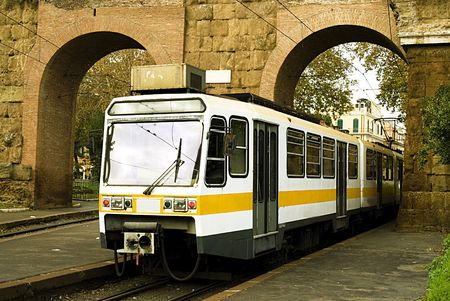 old tram photo