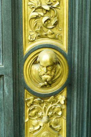 Door of paradise details
