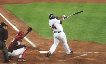 strong base: Immagine del gioco tra Stati Uniti e Venezuela nel baseball Coppa del mondo 2009, a Firenze, Italia.Il team degli USA � stato il vincitore del gioco, 6 x 3.