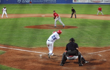 homeplate: mage of the game betwen Canada and Cuba in the baseball worldcup.Cuba was the winner,5x1,and pass to the final with USA.