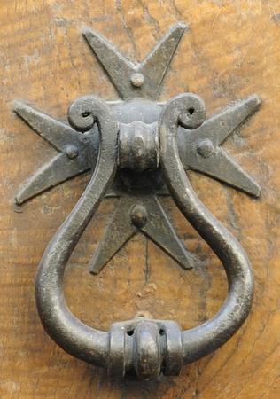 old doorknocker, italy Stock Photo