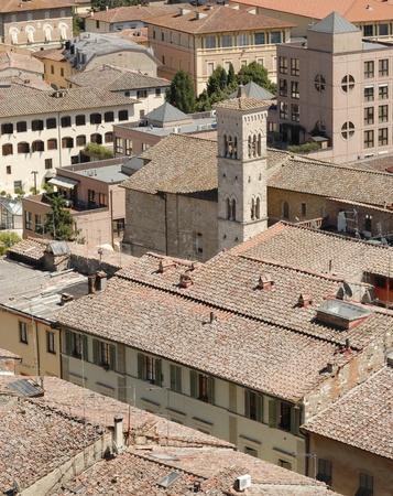 Rural city of tuscany photo