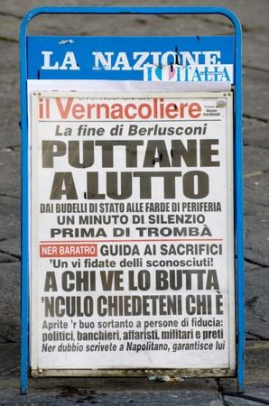 renounce: the renounce of Mister Silvio Berlusconi in the news Editorial