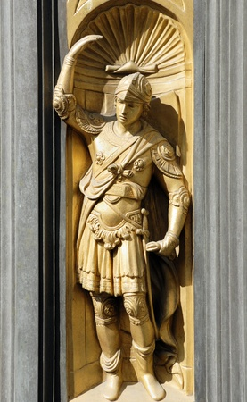 Door of Paradise Florence, Italy Stock Photo