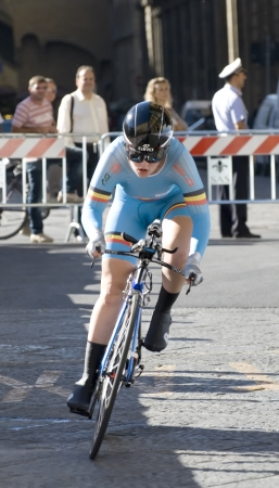 UCI road world championships  Tuscany 2013  Individual time trial  Women Juniors  Yurieva Polina, Ukraine  Note  the identification of athletes has been based on the order of departure  may not be exact even though the attention given