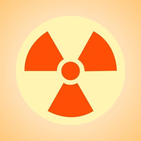 nuclear symbol: s�mbolo nuclear, advertir a la radiactividad, se�al de peligro, de fondo, contaminaci�n