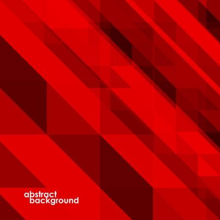 fondo rojo: Fondo colorido abstracto de los tri�ngulos. Ilustraci�n del vector. Eps 10 Vectores