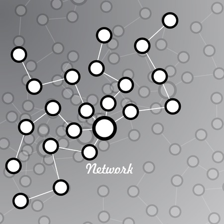 linkage: Network. Vector illustration. Eps 10