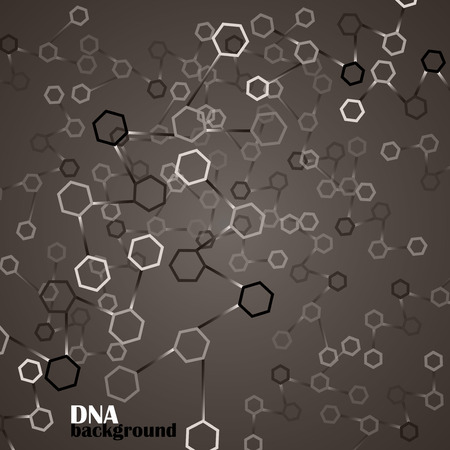 alternating organic: DNA vector. Abstract background