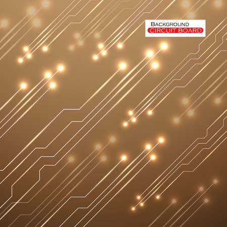 electronical: Circuit Board illustration Illustration