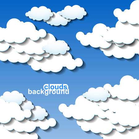 prognosis: Clouds background.