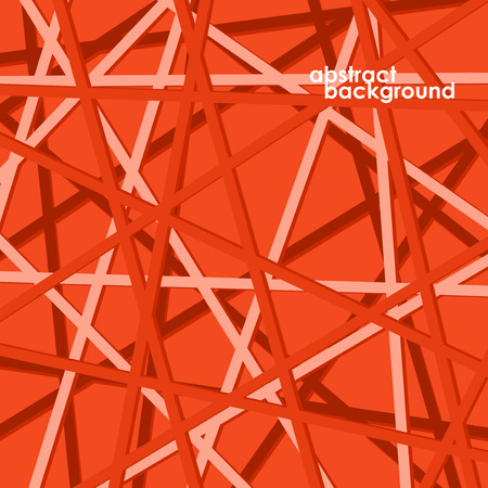 overlapping: Colorful background with overlapping lines.  Illustration