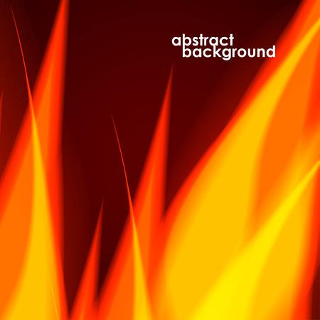 fiery: Fiery background. Vector illustration. Eps 10