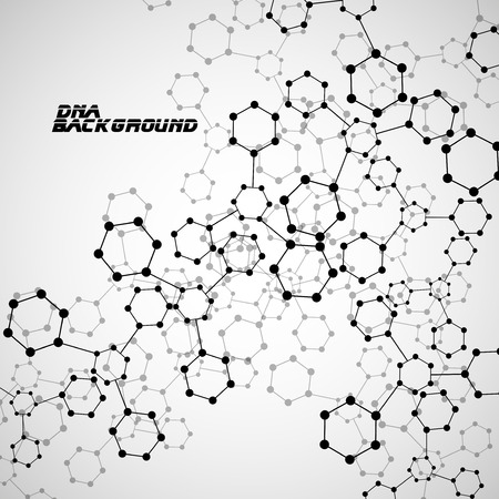 alternating organic: Molecule DNA. Abstract background.