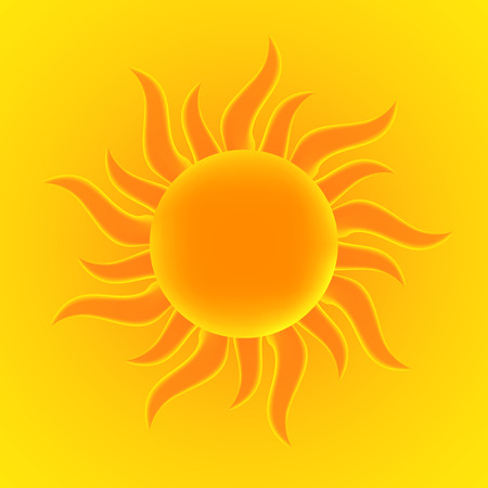 synopsis: Sun. Vector illustration.