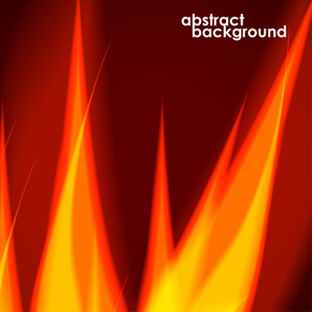 fiery: Fiery background. Vector illustration.