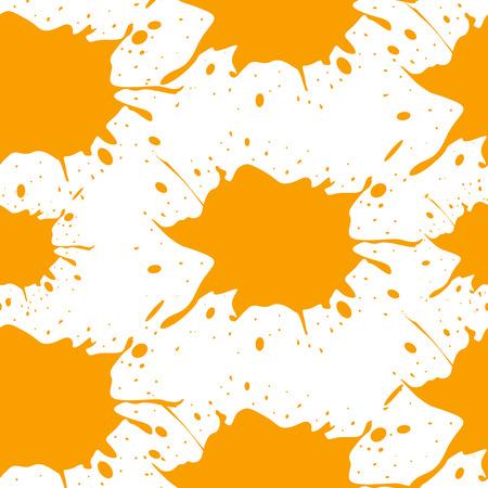 slur: Colorful blots. Seamless vector pattern. Vector illustration.  Illustration