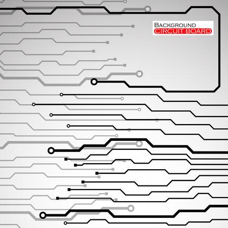 electronical: Circuit Board illustration.  Illustration