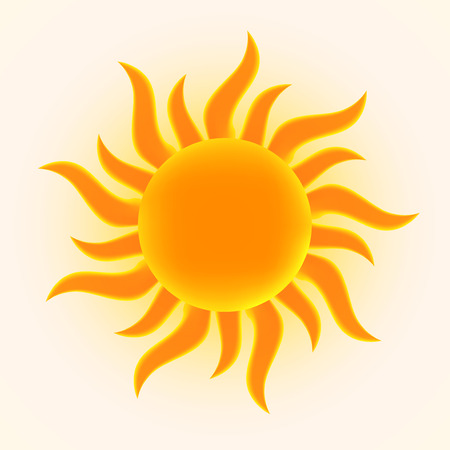 synopsis: Sun illustration.  Illustration