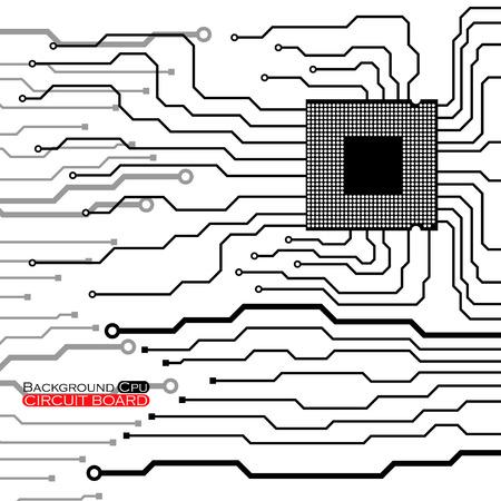 electronical: Cpu Circuit Board.
