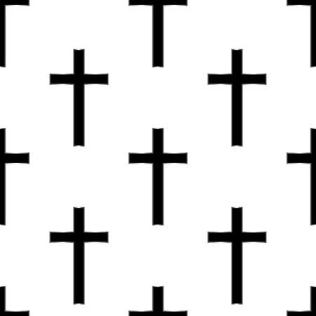 pasqua cristiana: Traversa religiosa seamless.