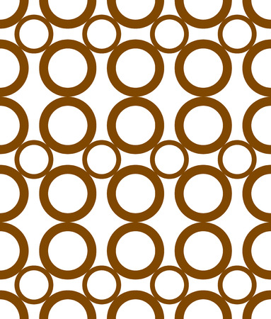Colorful seamless pattern with circles. Modern stylish texture. Vector background. 矢量图像